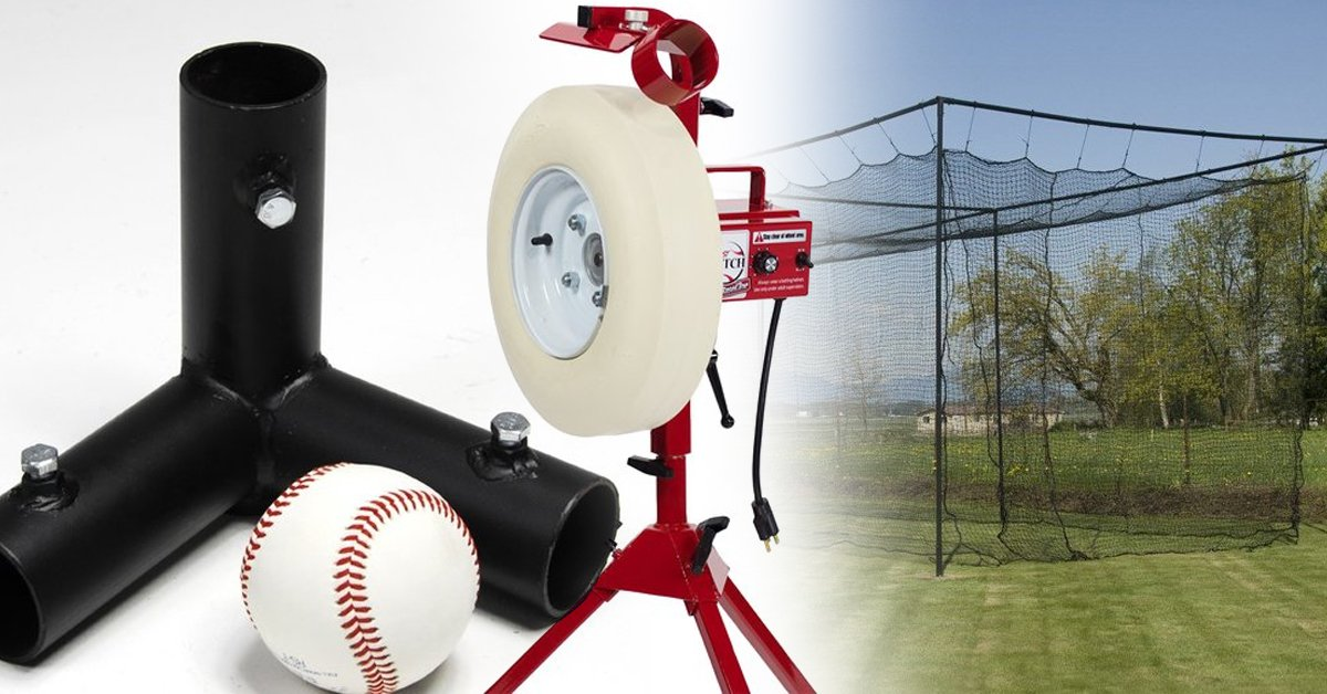 Buy Batting Cages Nets Pitching Machines Baseball