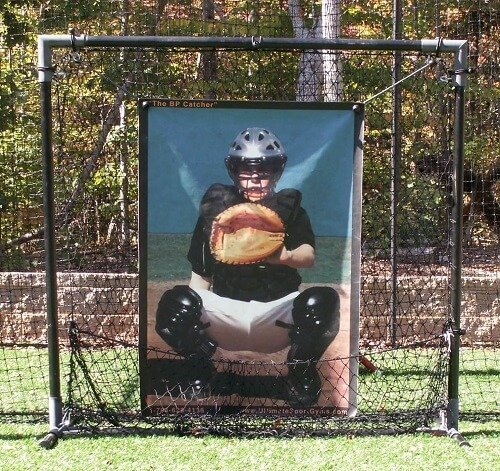 """BP Catcher"" Pitching Target"