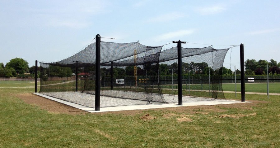 Mastodon Batting Cage Double Stall W Free Screen And Quot Bp