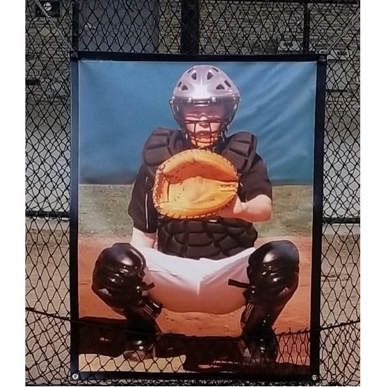":BP Catcher"" Pitching Target"