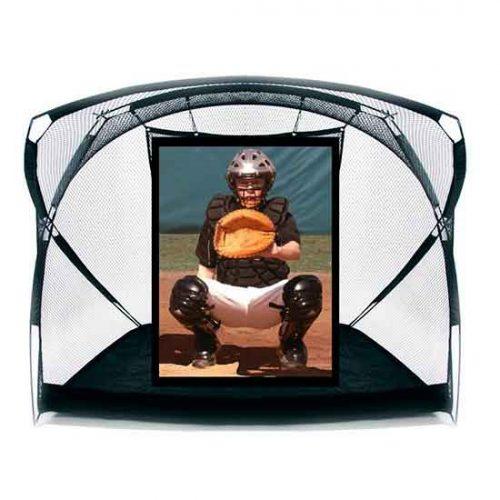 portable Soft Toss w/ BP Catcher