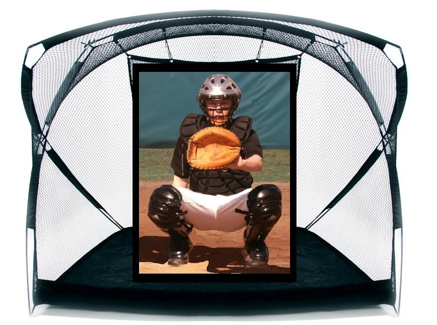 portable Soft Toss w/ BP Catcher