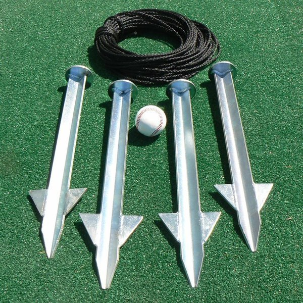 Heavy Duty Stake Down Kit | Batting Cages | Ultimate Sport