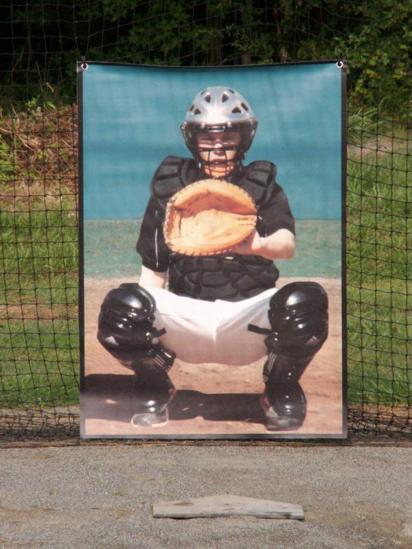 """BP Catcher"" Pitching Target"