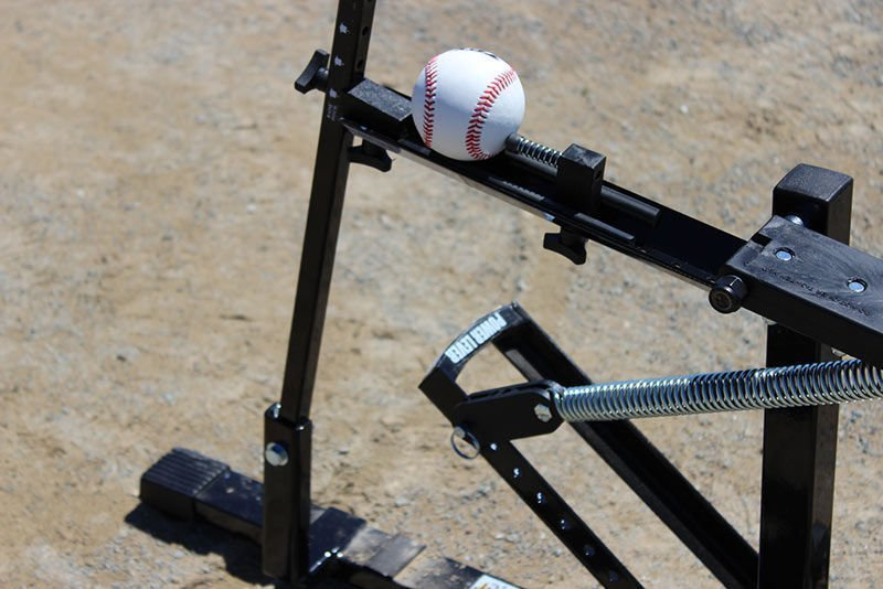 Black Flame Pitching Machine Ultimate Sport Gyms