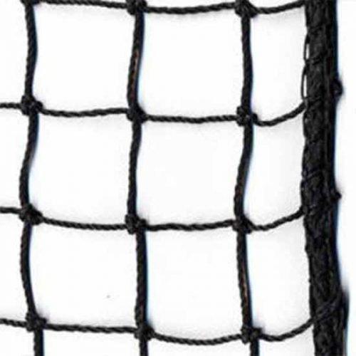 baseball net by foot