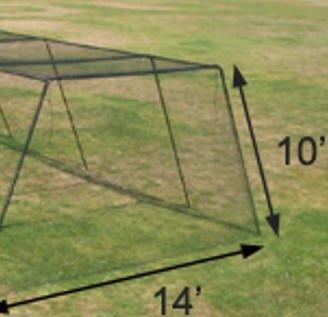 Trapezoid Frame w/Net