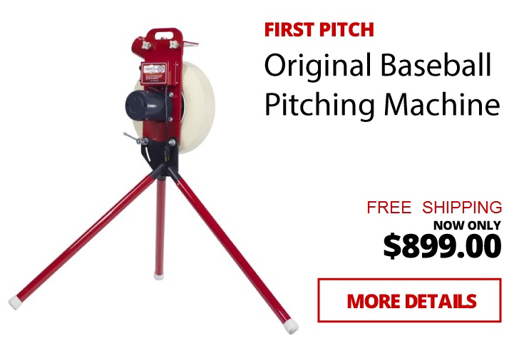 First Pitch Pitching Machines