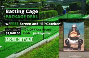 Batting Cage Package Deals