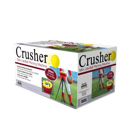Crusher Mini Lite Ball Pitching Machine
