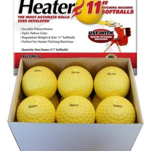 Heater Pitching Machine Softballs