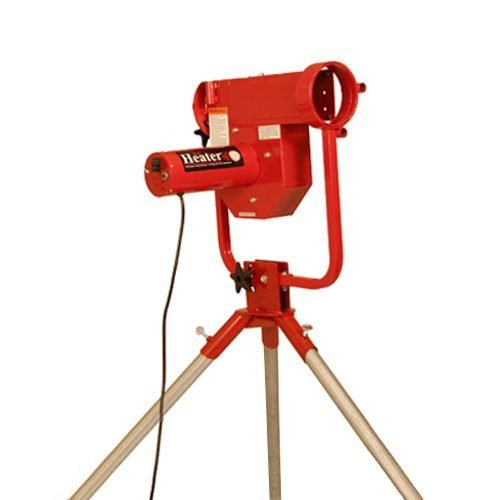 Heater Pro Real Curveball Machine No Ball Feeder