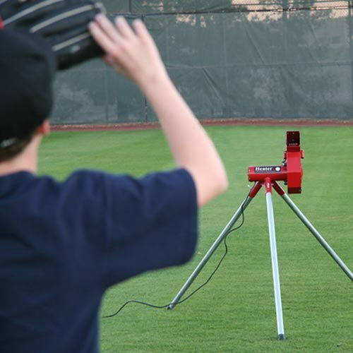 Heater Real Baseball Machine No Auto-Ball Feeder