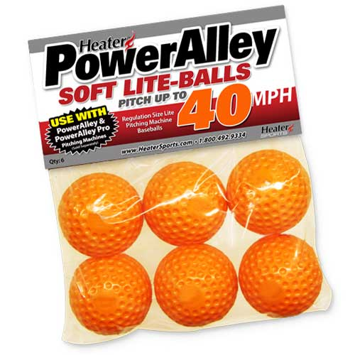 Power Alley Lite Baseballs