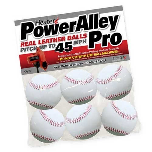 Power Alley Pro Pitching Machine Baseballs