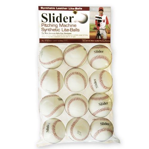 Slider Lite Pitching Machine Baseballs