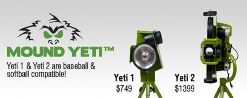 Mound Yeti Pitching Machine