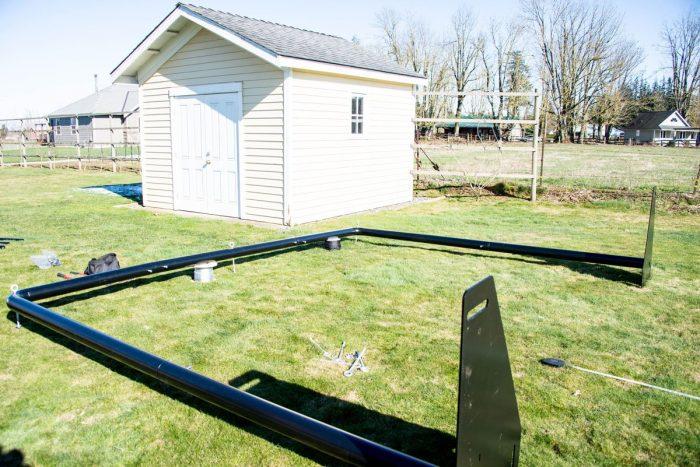 Iron Horse Batting Cage System